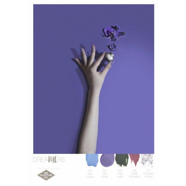 BIO Color Poster 42*30 - Plakat nr. 11 (Wild Orchids)