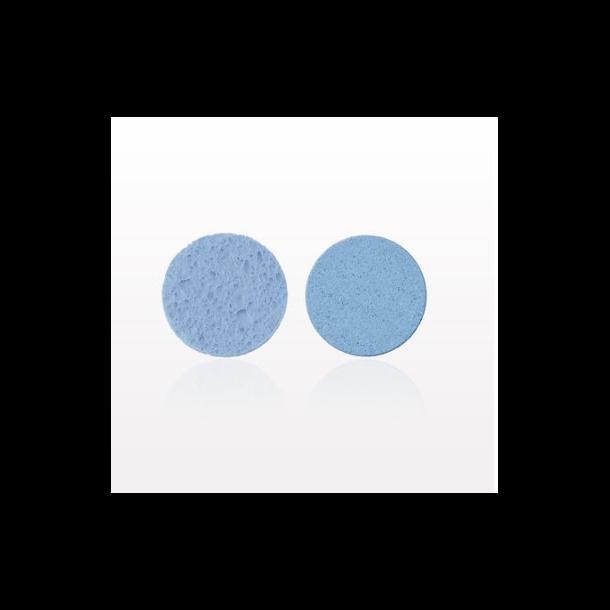 Ansigts svamp - Blå(2pak)