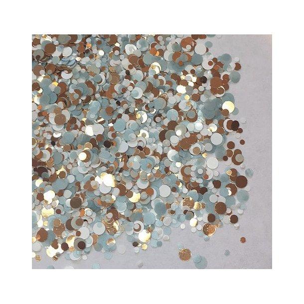 Chunky Glitter Elegant Eggshell