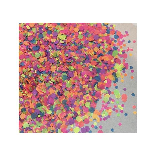Chunky Glitter Neon Blitz