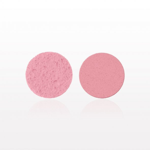 Ansigts svamp - Pink (2pak)