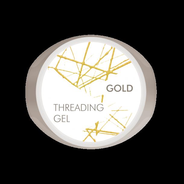 Bio Sculpture Threading Gel - Gold - Festive