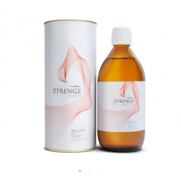 Ztrengz Beauty Oil - beauty in a shot